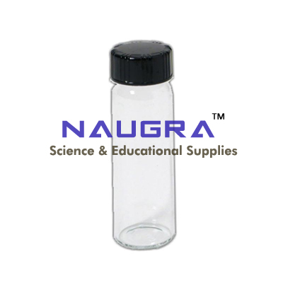 Vial Clear Glass